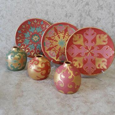 Декор для дома в Таджикистан: Авторская керамика в этно стиле в наличии и на заказ