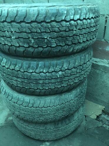 диски воссен 17 в Кыргызстан: Продаю шины 275/65/17 сост среднее за комплект