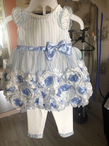 Платье на 12 месяцев новое с этикеткой, из Америки, есть еще очень мно