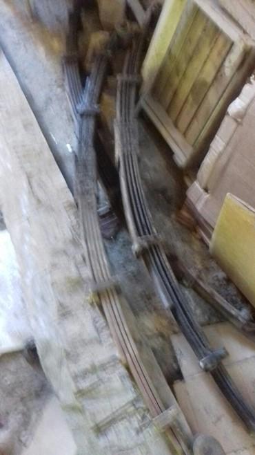 Зил-Бычок. заднтй мост, колеса 2шт, 2передних рессора..ТОРГ в Бишкек