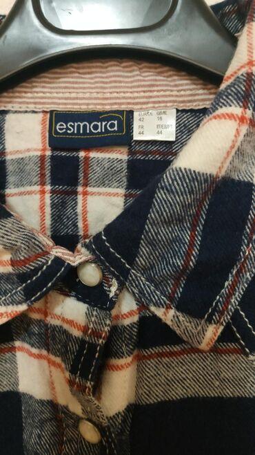 Ženska odeća   Nis: Nova Esmara kosulja, pamučna, veoma prijatna. Veličina 42