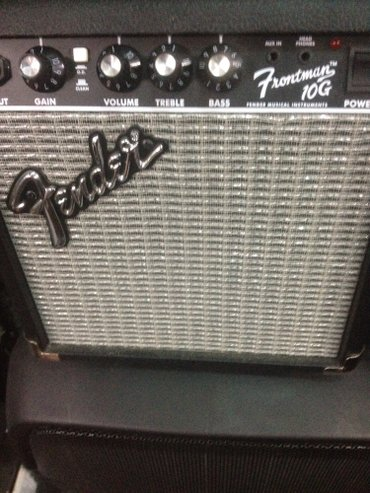 Xırdalan şəhərində Fender frontman 10 G aktiv kalonka(kombik)satılır.Gitara ,saz ve s sim