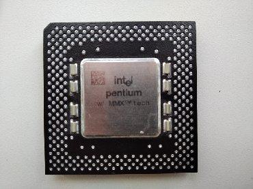 процессоры 533 mhz в Кыргызстан: Продаю процессор Intel Pentium MMX 200 MHz SL27J (Socket 7)