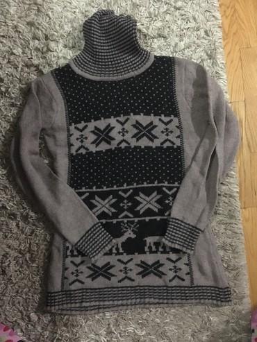 Zenski stofani vuneni mantic tsmno braon - Srbija: Zenski dzemper/Tunika