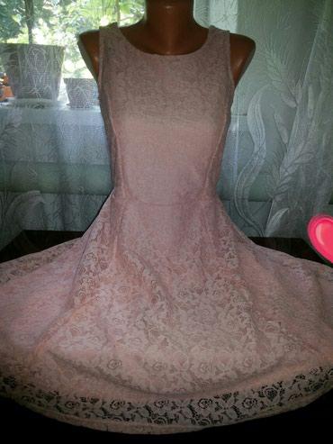 Нежнейшее фирменное гипюровое платье в Бишкек