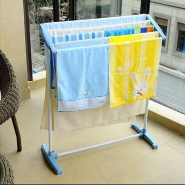 Stalak - Srbija: Stalak za susenje vesa - Mobile Towel Rack Cena 1.750 dinara1. Čvrsta