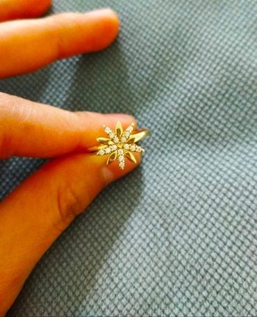Жёлтое золото, Кольцо 585 пробы с в Бишкек