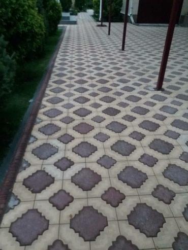 Брусчатка в Бишкек