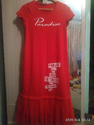 Платья в Ак-Джол: Платье очень красивое размер стандарт до 50 размера подойдёт,длина