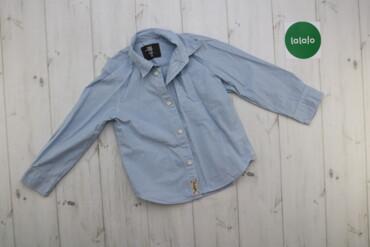 Топы и рубашки - Голубой - Киев: Дитяча сорочка H&M, зріст 104 см, вік 3-4 роки    Довжина: 41 см Ш