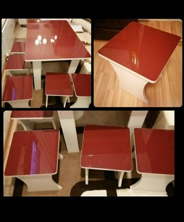 Son qiymetdir tecili satilir masa ve 5 oturacaq