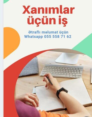 daye isi teklif olunur - Azərbaycan: Beynəlxalq şirkətin platformasında onlayn iş imkanı.Tələblər: daimi
