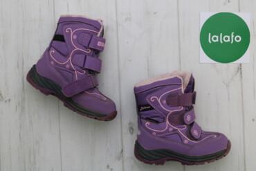 Дитячі зимові термо-чоботи B&G, р. 25    Довжина підошви: 18 см Ви