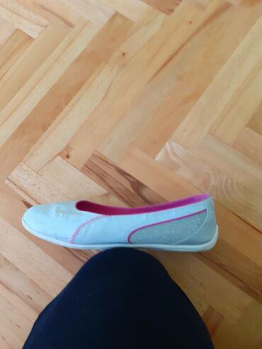 Ženska obuća | Kragujevac: PUMINE baletanke.Bez ostecenja.U odlicnom stanju,ocuvane.Sivo-srebrne