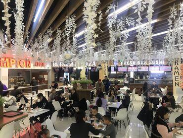 кафе для поминок в Кыргызстан: Гум, 5 этаж, зона фудкорт!  Сдаётся торговая площадь 25кв под общепит!