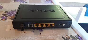 D-Link wifi modem, antennasi itib