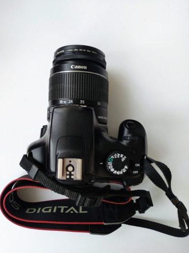 """Фото и видеокамеры в Азербайджан: Fotoaparat """"Canon 1100D"""" + Linza, PerexodnikFotoaparat yaxshi"""