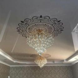 Натяжной потолок 300 с работой