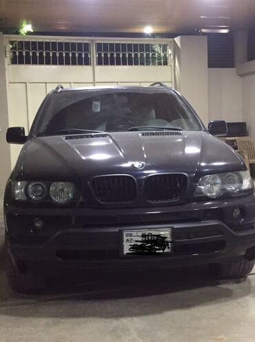 BMW - Model: X5 - Azərbaycan: BMW X5 4.4 l. 2004 | 245000 km