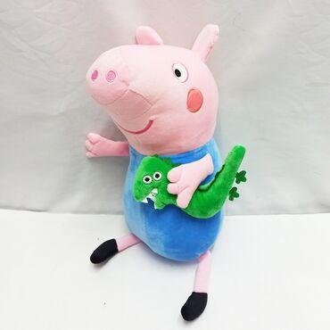 розовые колготки в Кыргызстан: Свинка Пепа - мягкая игрушка из популярного мультика малышам!!Размер