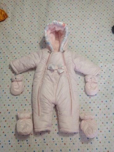 Продаю зимний детский комбинезон, в Бишкек