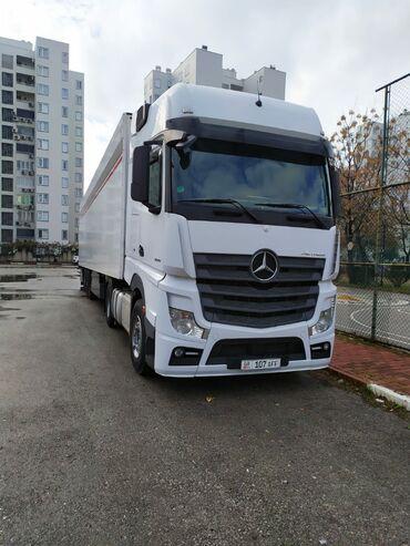 mercedes eshka в Кыргызстан: Mercedes Actros 1845 автомат белого цвета пробег 680000 км 2014 год