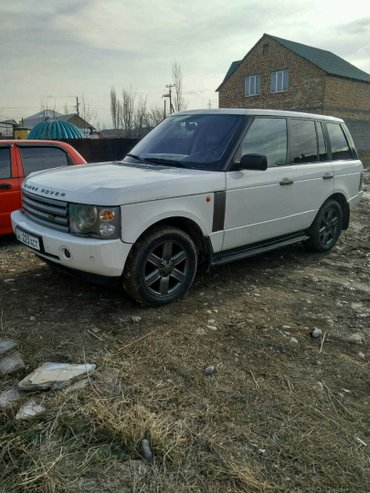 Range Rover, 2003 г., объем двигателя 4.4 бензин, кпп автомат, все в Бишкек