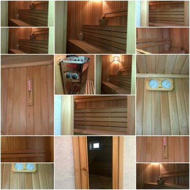 Hovuzlar - Azərbaycan: Sauna satılır.1cə dəfədə olsun istifadə edilməyib.ətirli lipa