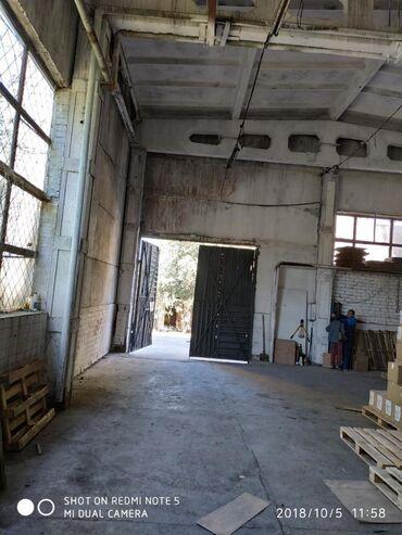 Коммерческая недвижимость - Кок-Ой: Склад 360 КВ метров, высота 7 метров, ворота большие, ровный бетонный
