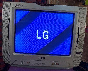 stekljannuju podstavku dlja tv в Кыргызстан: TV LG, пульт в комплекте