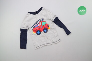 Топы и рубашки - George - Киев: Дитячий лонгслів з принтом George, вік 3-4 р., зріст 98-104 см    Довж