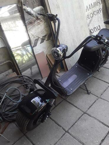 Другой транспорт - Черный - Бишкек: Продаю электро скутер,черный,новый