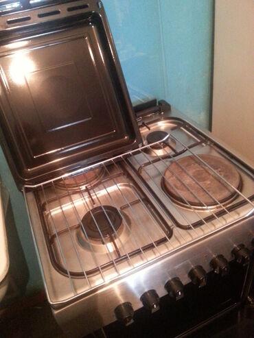 духовка плита в Кыргызстан: Продается комбинированная плита с электрической духовкой фирмы