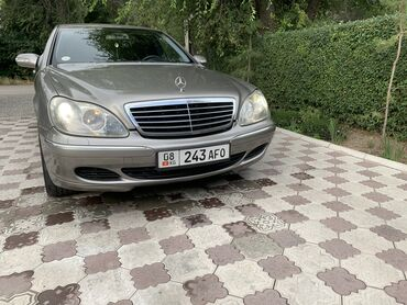 Mercedes-Benz S 320 3.2 л. 2003 | 240000 км