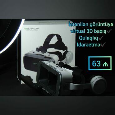 Veb-kameralar - Azərbaycan: VR shinecon İstənilən görüntüyə Virtual 3d baxış  Qulaqlıq  İdarəetmə