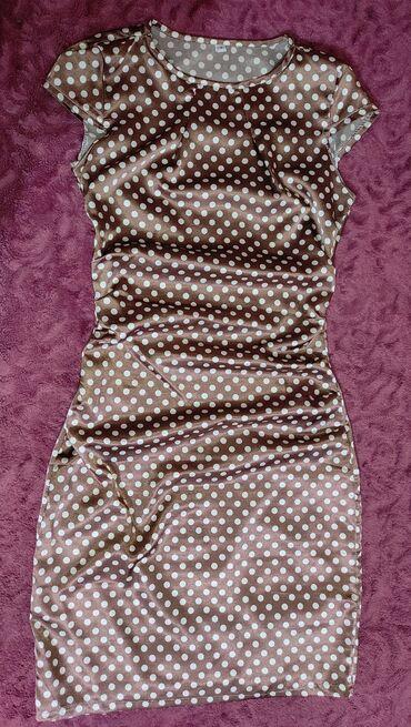 летнее платье халат на пуговицах в Кыргызстан: Продаю платье, летнее. До колен, размер S