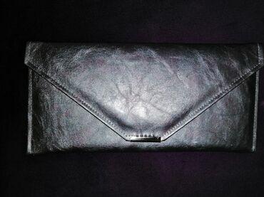 Pismo srebrna torbica