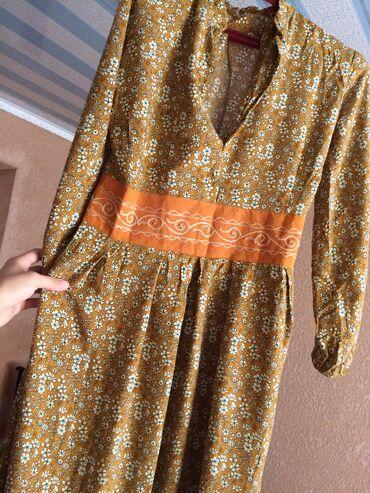 платье для кормящих в Кыргызстан: Платье на пуговицах Штапель Производ
