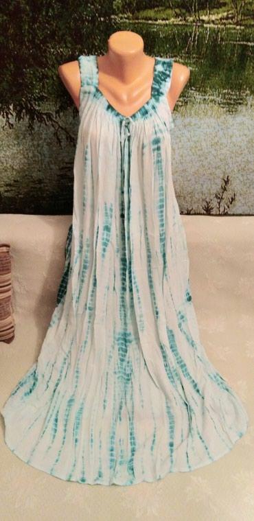 Новое индийское платье-сарафан. в Кок-Ой