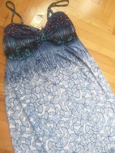 Duks haljina - Kraljevo: NOVO Na prodaju letnja ženska haljina na bretele, unikatnog dezena. Ha
