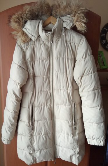 Zimska jakna ljubicaste boje - Srbija: Dobro ocuvana zimska jakna bez boje