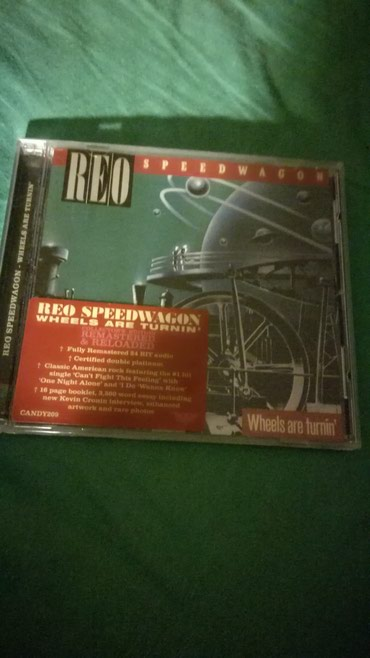 REO Speedwagon - Wheels Are Turning Rock Candy Remastered CD σε Kamatero
