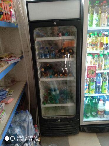 stolovye-pribory-bez-nozha в Кыргызстан: Б/у Холодильник-витрина Черный холодильник