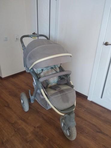 Коляски в Кок-Ой: Продаю спортивную коляску от известного бренда Happy Baby.Состояние