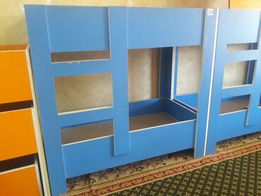 детские 2х ярусные кровати фото и цены в Кыргызстан: Продаю распродажа мебели для Детского сада кровати 2х, 3х, 4х