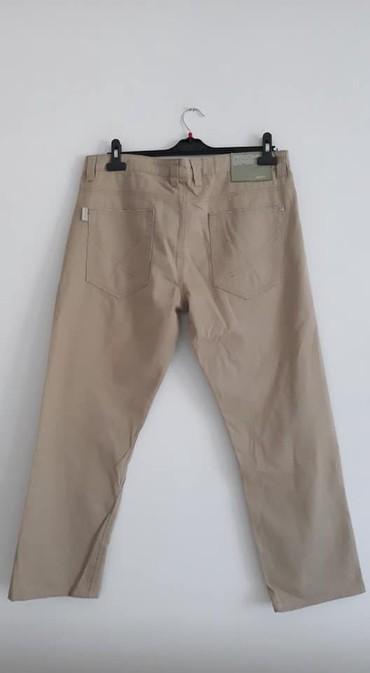 Haljina-okay - Srbija: Pantalone OKAY 44 cena 900 pamuk sirina pojasa 48 dubina zadnjice 35 s