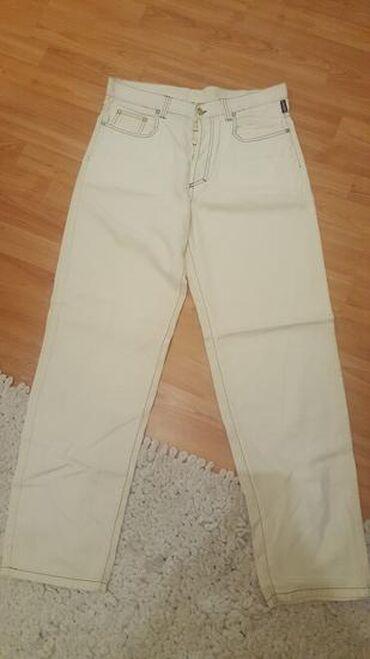 Muške Pantalone | Vrnjacka Banja: Firmirane muske farmerice Versace original kupljene u Italiji VEL 38