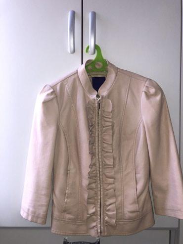 Кожаная розовая куртка американского бренда Forever 21, размер S в Бишкек