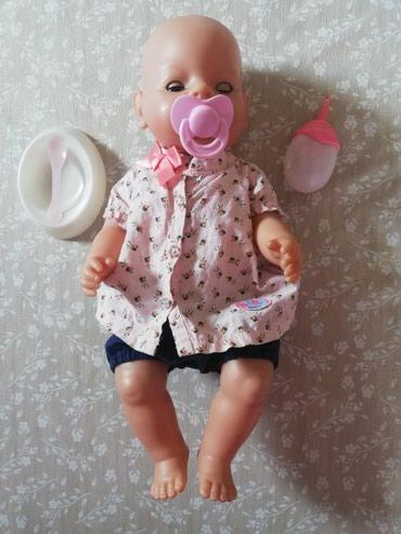 Original Baby born, Zapf Creation, što dokazuju brojevi na njenim - Sabac
