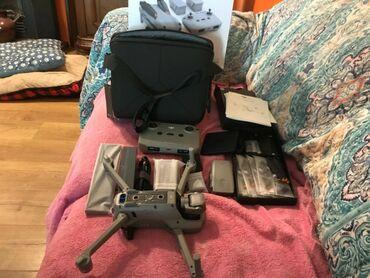 Компактный дрон dji air 2s с полным комплектом. Покупался для работы